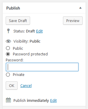 Post Visibility Settings