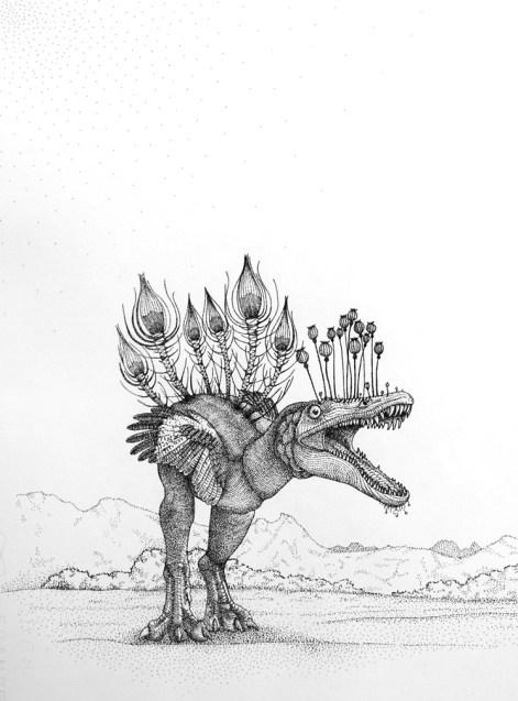 """Pablo Jurado Ruiz """"Dinoflora""""p1"""