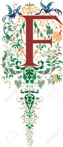 alphabet (f)