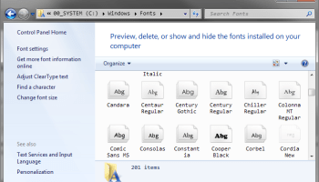 Windows 7: Fixedsys as Console Font – Code Yarns 👨 💻