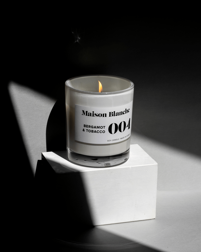 Candle Product Photography by Brisbane photographer Codie Zofia