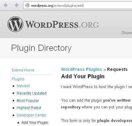 wordpress extend