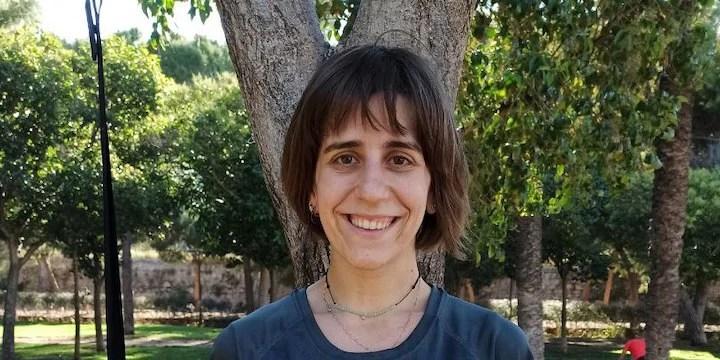 Cristina Pastor - Entrenamiento