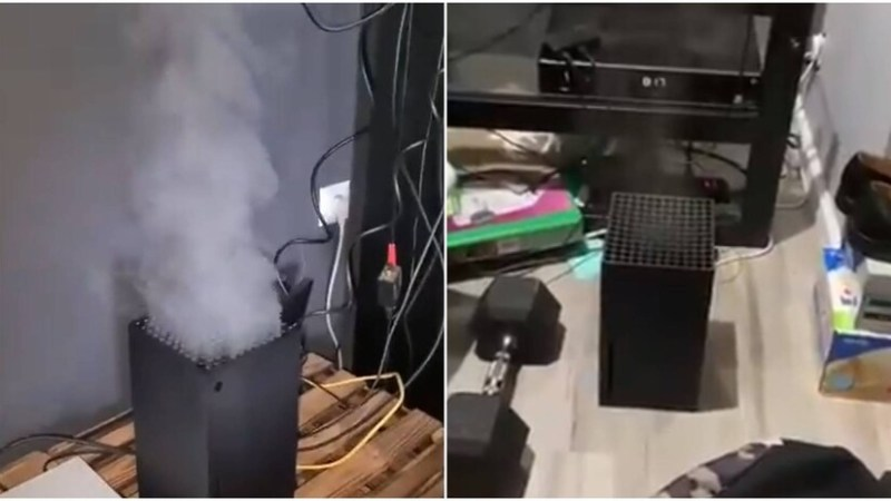 Xbox Series X en humo