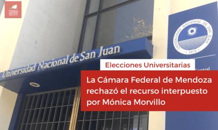 <h6>Elecciones</h6><h1>La Cámara Federal de Mendoza rechazó el recurso interpuesto por Mónica Morvillo</h1>