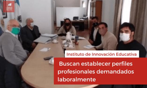 Instituto de Innovación Educativa: buscan establecer perfiles profesionales demandados laboralmente