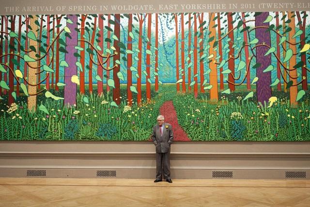 David Hockney, el artista que pinta con su iPad - Código Espagueti
