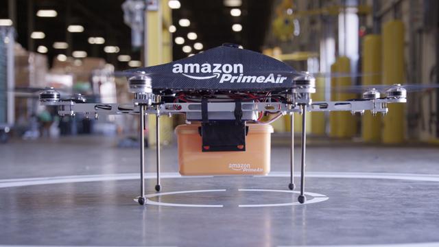 Autorizan a Amazon probar sus drones repartidores - Código Espagueti