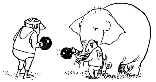 Cartones de Quino, el creador de Mafalda