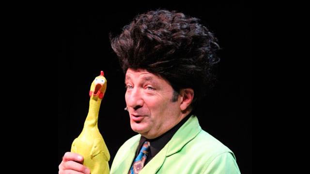 Paul Zaloom, divulgador de la ciencia con su personaje Beakman