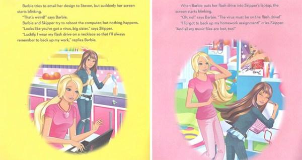 Barbie-programadora