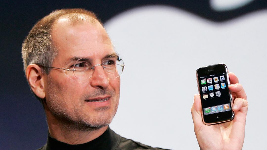 Steve Jobs presentacion primer iPhone