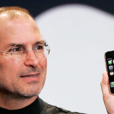Steve Jobs presentacion primer iPhone