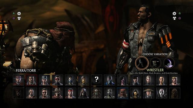 Pocos personajes a elegir, pero varias opciones de pelea