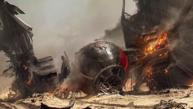 Tienen que ver el detrás de cámaras de Star Wars: The Force Awakens - Código Espagueti