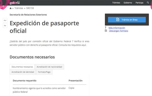 Pasaporte-web