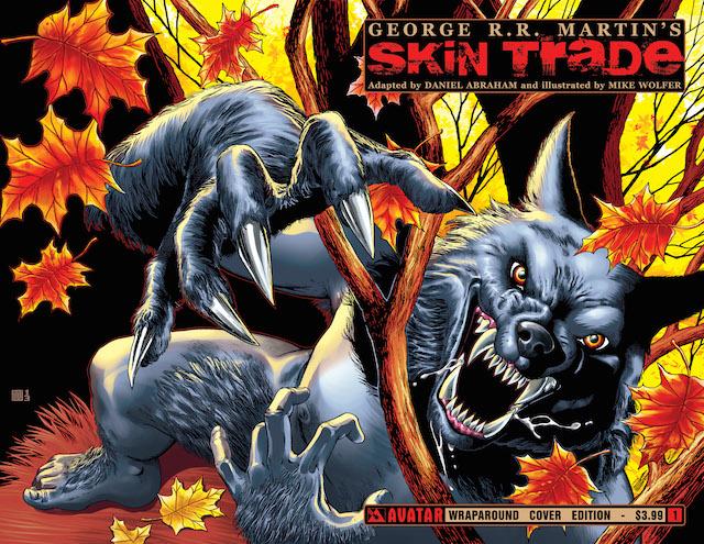 skin trade comic cover