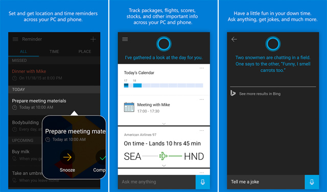 Cortana-Android-iOS