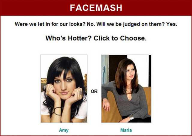 Facemash, el antecedente de Facebook