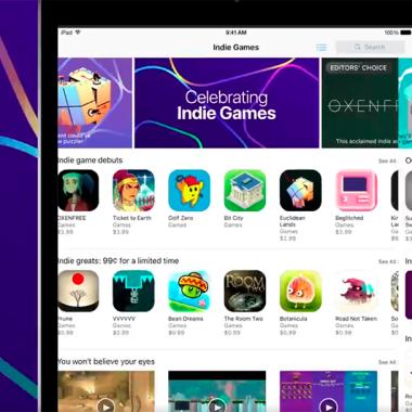 Indie Games ya es una sección permanente en la tienda de Apple