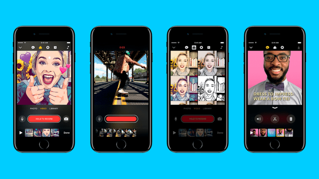 Clips: la nueva app de video de Apple que apuesta por lo social de manera inteligente