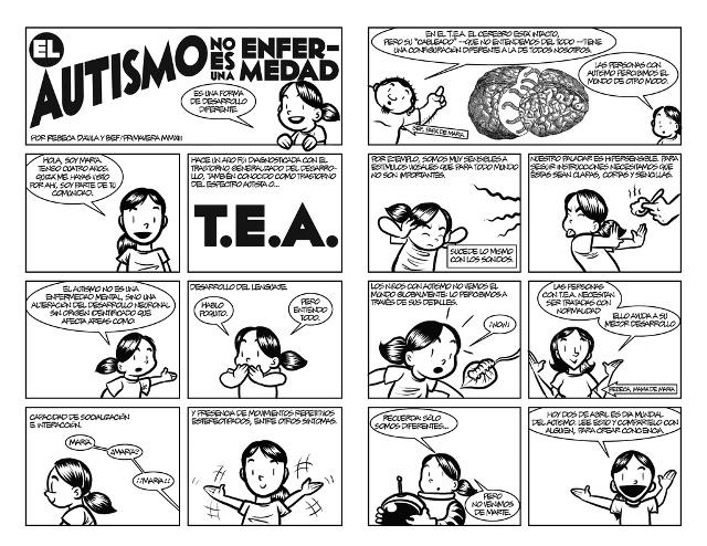 Comic Autismo Bef Maria