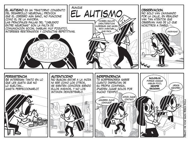 Autismo Comic Kone