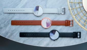 Este reloj de estilo minimalista te revelará el tiempo oculto