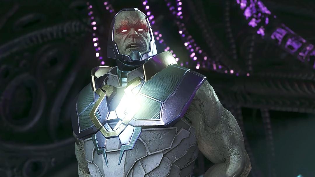 Darkseid en Injustice, el juego de peleas