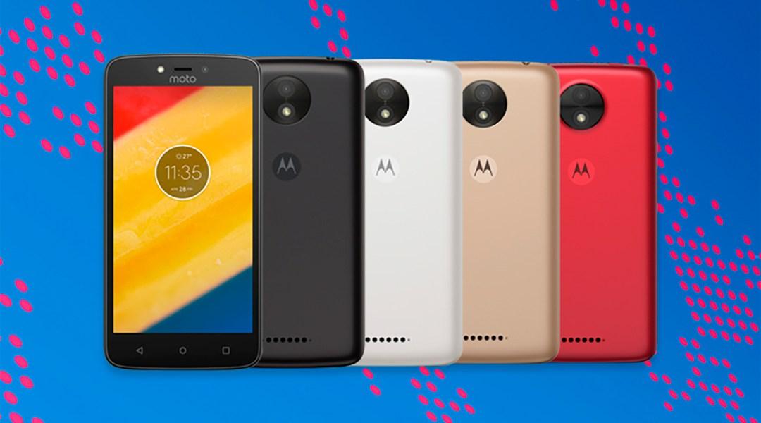 Lenovo tiene un nuevo teléfono de gama baja y se llama Moto C