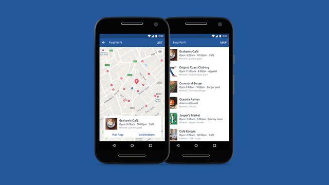 Find Wi-Fi es la nueva herramienta de Facebook para encontrar redes