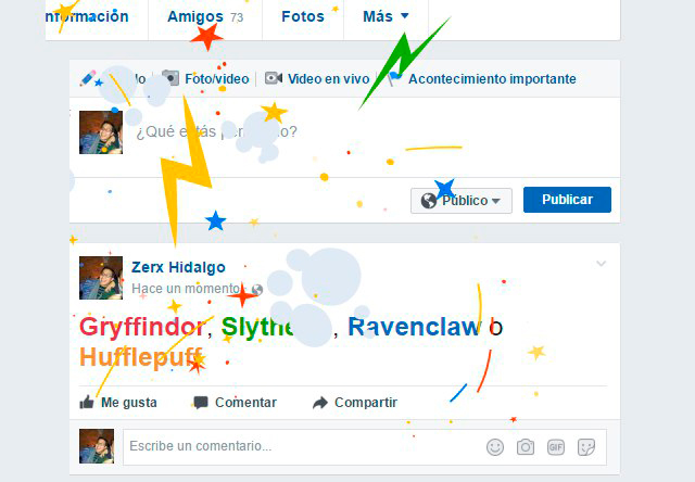 Facebook celebra los 20 años de Harry Potter
