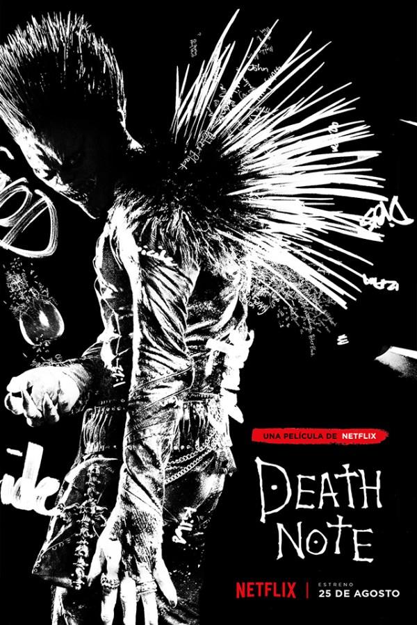 Póster de la nueva película live-action de Death Note