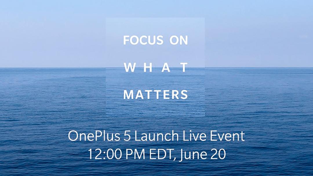 Es un hecho: La presentación del OnePlus 5 será el 20 de junio
