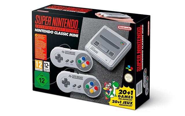 La versión del SNES Mini que se venderá en Europa