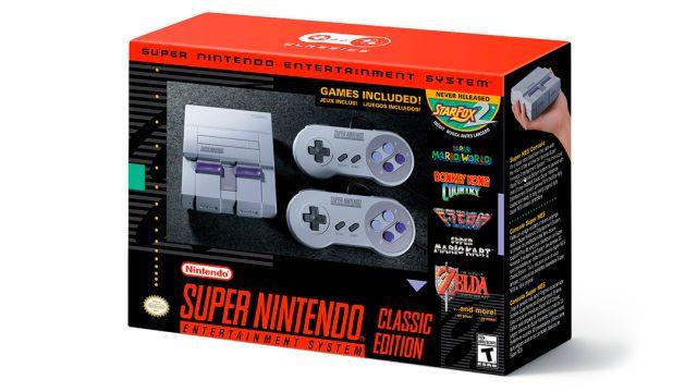 Nintendo lanzará el nuevo SNES Mini en septiembre
