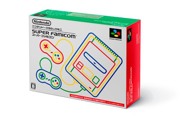 La caja del nuevo Super Famicom Mini
