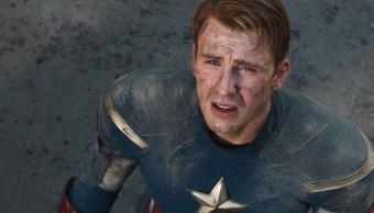Chris Evans interpretando al Captain America