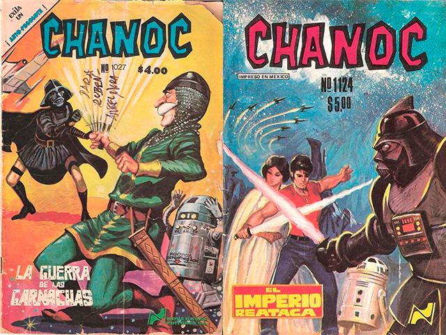 un par de comics de Chanoc