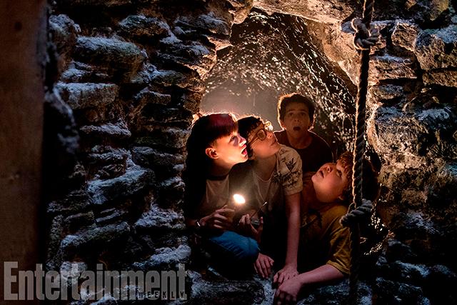 Imágenes de la película de Eso muestran las cloacas de Derry