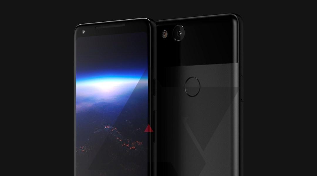 Un render de cómo podría ser el nuevo Pixel XL