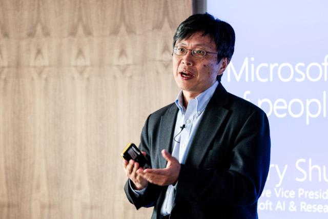 Harry Shum, vicepresidente ejecutivo de I.A de Microsoft