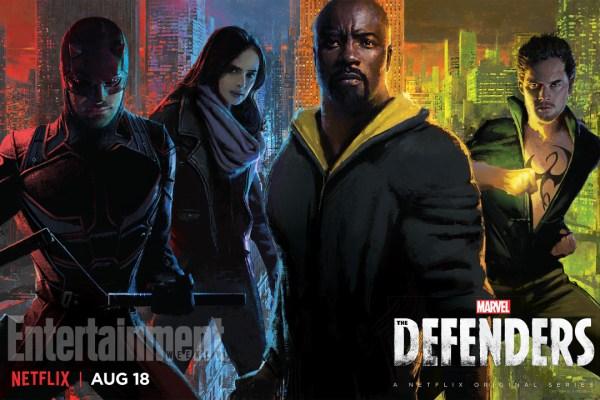 Póster exclusivo de The Defenders para la SDCC2017