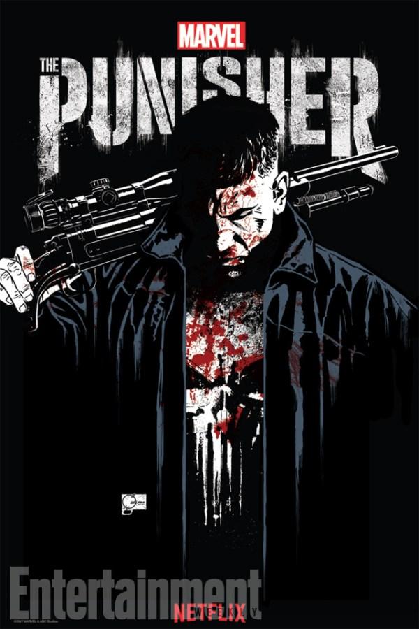 Marvel y Netflix liberan el primer póster de Punisher