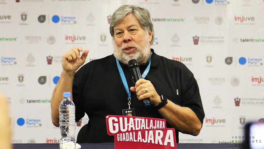 La conferencia de Steve Wozniak cerró Campus Party México 2017