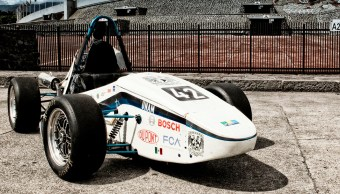Un vehículo de la UNAM para competir en la Formula SAE