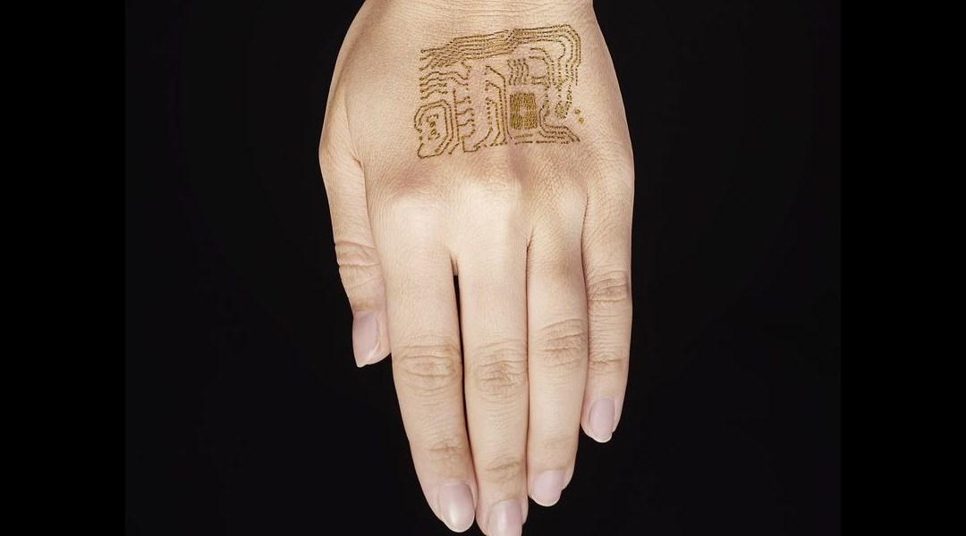 Estos tatuajes dorados podrían ser el inicio de una revolución médica.