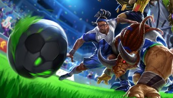 Striker Lucian de League of Legends