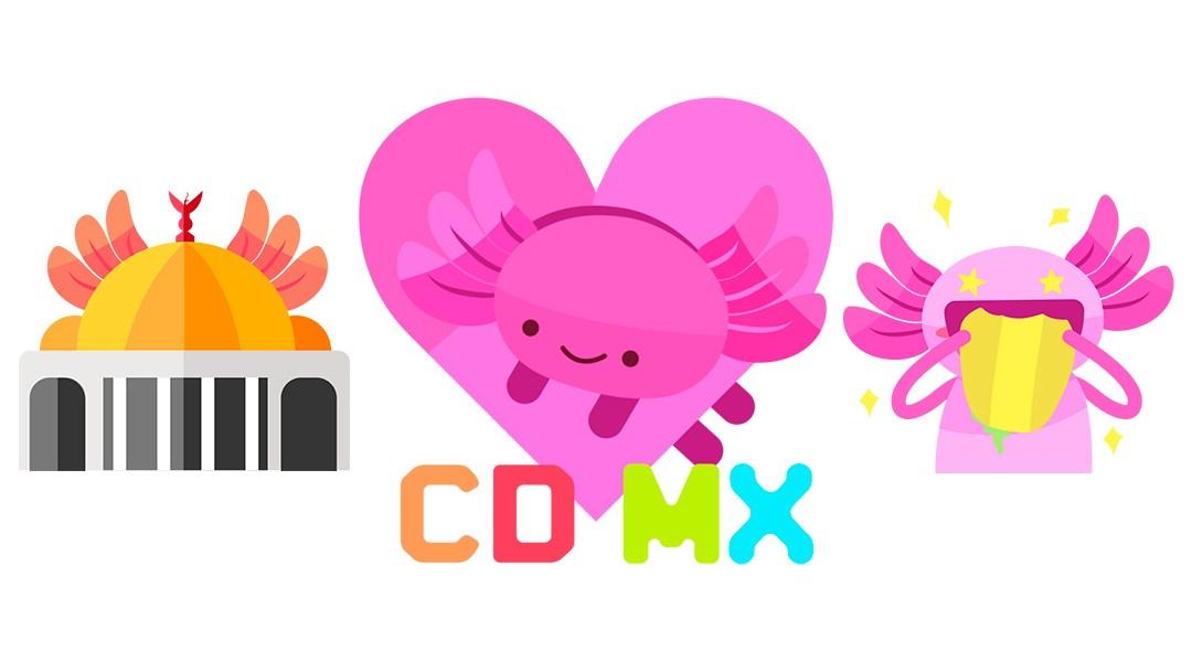 Así son los nuevos emojis de la CDMX