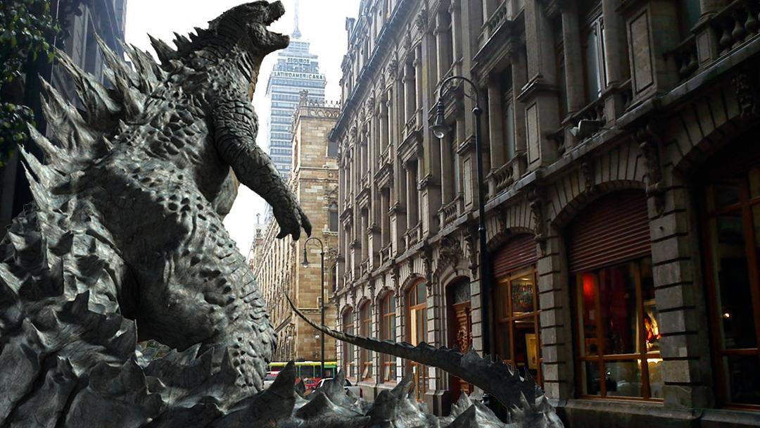 Godzilla destruirá el Centro Histórico de la CDMX